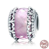 Thailand European Perlen, mit Kristall, Rondell, ohne troll & facettierte, 12x10mm, Bohrung:ca. 4.5-5mm, verkauft von PC