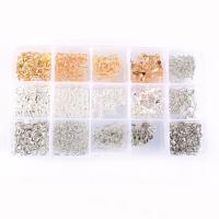 Eisen gemischt, mit Kunststoff Kasten, plattiert, frei von Blei & Kadmium, 176x102x20mm, ca. 370PCs/Box, verkauft von Box