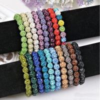 Strass Armband, Lehm pflastern, für Frau & mit Strass, keine, verkauft per ca. 7.8 ZollInch Strang