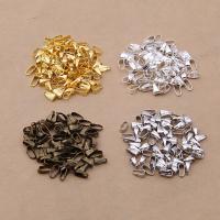 Eisen Enhancer, plattiert, gemischte Farben, frei von Blei & Kadmium, 7x3mm, 400PCs/Tasche, verkauft von Tasche