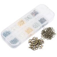Eisen gemischt, mit Kunststoff Kasten, plattiert, frei von Blei & Kadmium, 12x6mm, 5mm, verkauft von Box