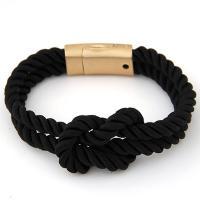 Nylonschnur Armband, Zinklegierung Magnetverschluss, für Frau, keine, 17cm, verkauft per ca. 6.5 ZollInch Strang