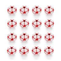 Volltonfarbe Acryl Perlen, rund, 12mm, Bohrung:ca. 2.5mm, 50PCs/Tasche, verkauft von Tasche