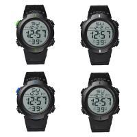 honhx® Uhrenkollektion, Kunststoff, mit Glas & Harz & Edelstahl, unisex & einstellbar & LED & glänzend, keine, 49x17mm, Länge:ca. 11 ZollInch, verkauft von PC
