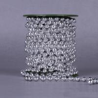 Garland-Strang Perlen, Acryl, mit Kunststoffspule, rund, plattiert, keine, 8mm, 10m/PC, 10m/PC, verkauft von PC