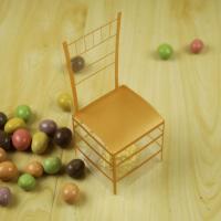 Hochzeit Süßigkeitenkasten, Kunststoff, goldfarben, 53x53x132mm, 100PCs/Menge, verkauft von Menge