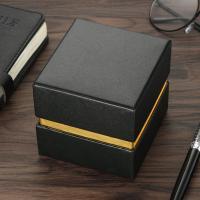 PU Leder Uhrkasten, keine, 95x90x85mm, verkauft von PC