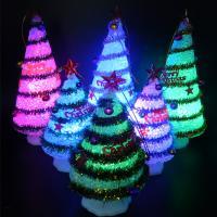 Nachtlampe, EVA Poron, Weihnachtsbaum, Weihnachtsschmuck, 75x195mm, 3PCs/Menge, verkauft von Menge