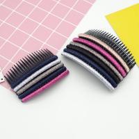 Dekoratives Haarkämmchen, Kunststoff, mit Goldene Fäden, verschiedene Größen vorhanden, 10PCs/Menge, verkauft von Menge