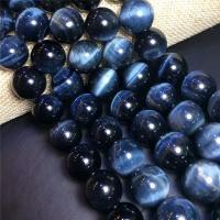 Beizvogelsauge Stein Perle, rund, verschiedene Größen vorhanden, Bohrung:ca. 1mm, verkauft per ca. 15.7 ZollInch Strang