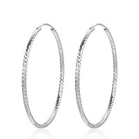 925 Sterling Silber Ohrringe, für Frau, 43mm, 1.8mm, verkauft von Paar
