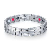 Titanstahl Armband, plattiert, für den Menschen, keine, 12mm, verkauft per ca. 8.5 ZollInch Strang