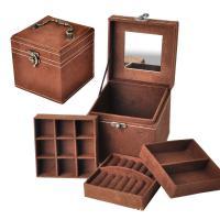 Baumwollsamt Schmucksetkasten, mit Holz, Koreanischen Stil, keine, 120x120x120mm, verkauft von PC