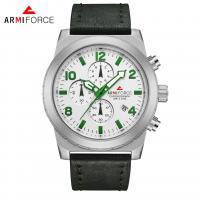 ARMIFORCE® Uhrenkollektion, Glas, mit PO Leder & Zinklegierung, plattiert, für den Menschen, keine, 47x12mm, Länge:ca. 10.2 ZollInch, verkauft von PC