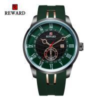 Reward® Uhrenkollektion, Glas, mit Silikon & Zinklegierung, plattiert, für den Menschen, keine, 47x13mm, Länge:ca. 9.6 ZollInch, verkauft von PC