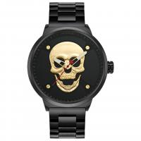 WWOOR® Collection Uhr, Glas, mit Edelstahl & Zinklegierung, plattiert, für den Menschen, keine, 48x13mm, Länge:ca. 8.6 ZollInch, verkauft von PC