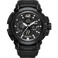 PANARS® Uhrenkollektion, Kunststoff, mit Edelstahl & Acryl, plattiert, Multifunktions & LED & für den Menschen & wasserdicht & glänzend, keine, 59x18mm, 30.5mm, Länge:ca. 9.8 ZollInch, verkauft von PC