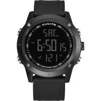 PANARS® Uhrenkollektion, Kunststoff, mit Edelstahl, plattiert, Multifunktions & einstellbar & LED & für den Menschen & wasserdicht & glänzend, keine, 54x14.5mm, 26mm, Länge:ca. 10.6 ZollInch, verkauft von PC