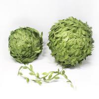 Haarschmuck DIY Ergebnisse, Stoff, Blatt, grün, 200000mm, verkauft von PC