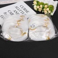 Angelleine elastisches Garn, verschiedene Größen vorhanden, weiß, 50PCs/Tasche, verkauft von Tasche