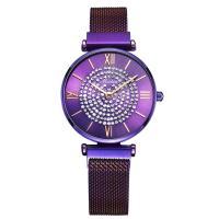 MEIBIN® Damen Schmuck Uhren, Zinklegierung, mit Glas, plattiert, für Frau & mit Strass, keine, 32x8mm, Länge:ca. 7.8 ZollInch, verkauft von PC