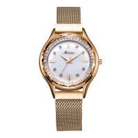 MEIBIN® Damen Schmuck Uhren, Zinklegierung, mit Glas, plattiert, für Frau, keine, 34x11mm, Länge:ca. 8.2 ZollInch, verkauft von PC