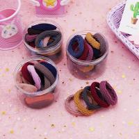 Elastisches Haarband, Stoff, mit Gummiband, verschiedene Stile für Wahl, 50mm, 13mm, 20PCs/Box, verkauft von Box