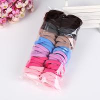 Elastisches Haarband, Stoff, mit Gummiband, für Frau, keine, 40mm, 100PCs/Menge, verkauft von Menge