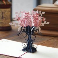 Papier 3D Grußkarte, handgemacht, mit Umschlag & 3D-Effekt, keine, 150x150mm, verkauft von PC