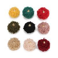 Hängende Ornamente, Wollmischung, verschiedene Größen vorhanden, keine, 20PCs/Tasche, verkauft von Tasche