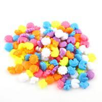 Acryl Schmuck Perlen, keine, 8x11x5mm,12x9x5mm, 2000PCs/Tasche, verkauft von Tasche