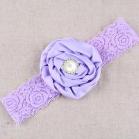 Stoff Schweißband, handgemacht, für Kinder & mit Strass, keine, Länge:ca. 14.18 ZollInch, 5PCs/Menge, verkauft von Menge
