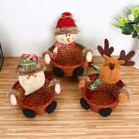 Stoff Weihnachtsschmuck & verschiedene Größen vorhanden & verschiedene Stile für Wahl, 10PCs/Menge, verkauft von Menge