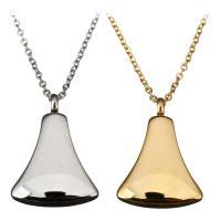 Edelstahl Schmuck Halskette, mit Verlängerungskettchen von 2Inch, plattiert, unisex & Oval-Kette, keine, 17x24mm, 1mm, verkauft per ca. 18 ZollInch Strang