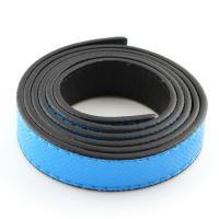 elastische Nylonschnur Multifunktionsleiste Kabel, mit PU Leder, himmelblau, 18x2mm, Länge:100 cm, 10Spulen/Tasche, verkauft von Tasche