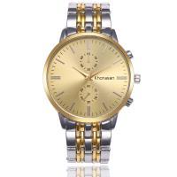 Herren Armbanduhr, Zinklegierung, mit Glas & Edelstahl, plattiert, für den Menschen, keine, 44mm, 25mm, Länge:ca. 9 ZollInch, verkauft von PC