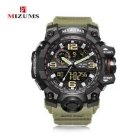 MIZUMS® Uhrenkollektion, Kunststoff, mit Glas & Edelstahl, plattiert, für den Menschen & glänzend, keine, Länge:ca. 9 ZollInch, verkauft von PC