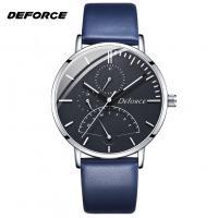 DOM® Uhrenkollektion, Edelstahl, mit PU Leder & Glas, plattiert, für den Menschen, keine, 40mm, Länge:ca. 8.6 ZollInch, verkauft von PC
