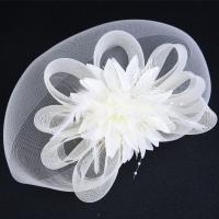 Braut Haar Blumen, Gaze, keine, frei von Nickel, Blei & Kadmium, 300x350mm, verkauft von PC