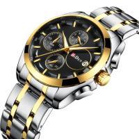 BIDEN® Uhrenkollektion, Edelstahl, mit Glas & Zinklegierung, plattiert, für den Menschen, keine, 44mm, Länge:ca. 10.6 ZollInch, verkauft von PC
