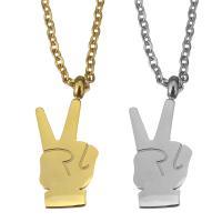 Edelstahl Schmuck Halskette, mit Verlängerungskettchen von 2lnch, Hand, plattiert, Oval-Kette & für Frau, keine, 8x18mm, 1.5mm, verkauft per ca. 18 ZollInch Strang