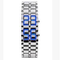 Ehepaar Uhrenarmbänder, Edelstahl, mit Zinklegierung, plattiert, unisex & verschiedene Stile für Wahl, 40x40x25mm, Länge:ca. 11 ZollInch, verkauft von PC