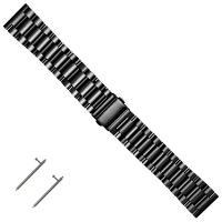 Edelstahl Uhrband, plattiert, keine, 180x22mm, Länge:ca. 7 ZollInch, verkauft von PC