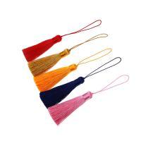 Dekorative Quaste, Polyestergarne, handgefertigt, keine, 160mm, 100PCs/Tasche, verkauft von Tasche