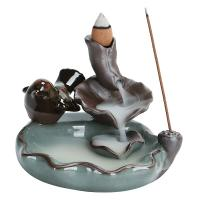 Porcelain Backflow Incense Burner, Porzellan, verschiedene Stile für Wahl, verkauft von PC