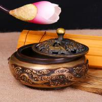 Räucherstäbchen, Messing, antike Kupferfarbe plattiert, frei von Nickel, Blei & Kadmium, 120x70mm,85mm, verkauft von PC