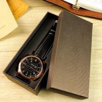 Papier Uhrkasten, Rechteck, keine, 145x65x30mm, 50PCs/Menge, verkauft von Menge