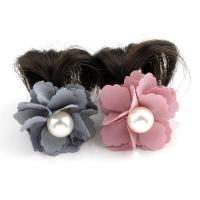 Haarklammer, Kunststoff, mit Künstliche Faser & Stoff, für Frau, keine, 43x40x23mm, verkauft von PC
