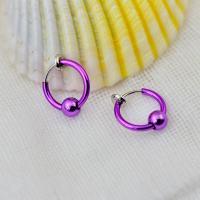 Messing Leverback Ohrring, plattiert, unisex, keine, frei von Nickel, Blei & Kadmium, 13mm, 10PCs/Tasche, verkauft von Tasche