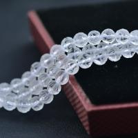 Natürliche klare Quarz Perlen, Klarer Quarz, LotusLotos, geschnitzt, DIY, weiß, verkauft per ca. 14 ZollInch Strang